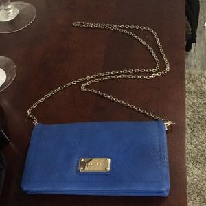 Blue Nine West Purse